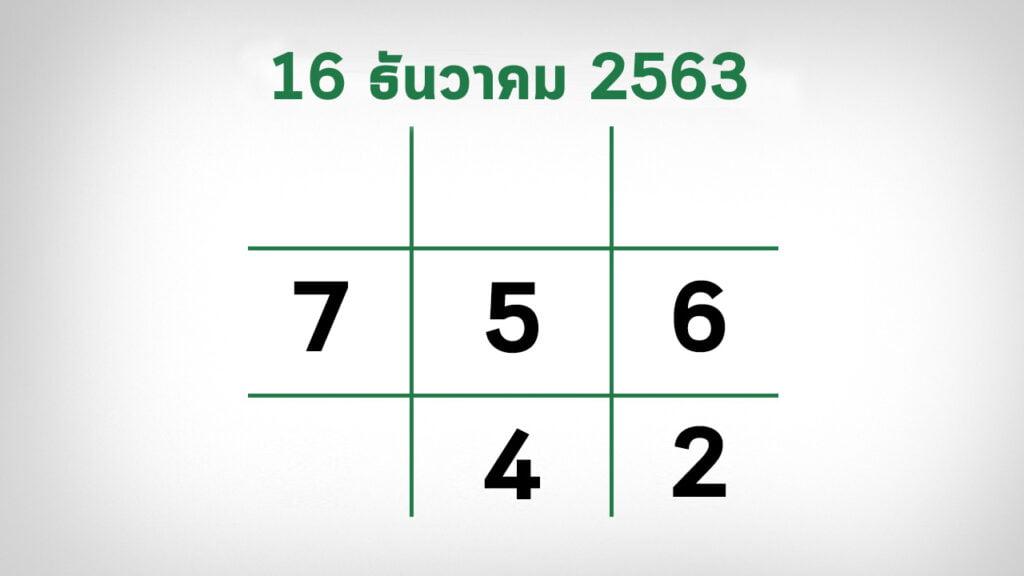เลขเด็ดไทยรัฐ161263